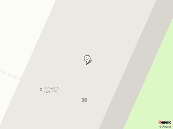 Салон красоты на карте Перми
