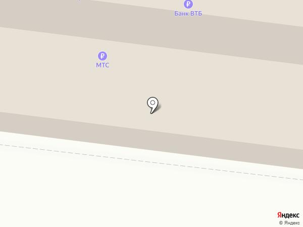 Subway на карте Перми