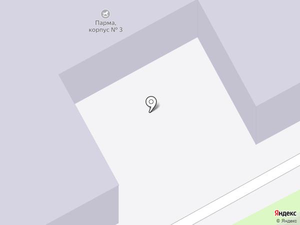 Детский сад №423 на карте Перми