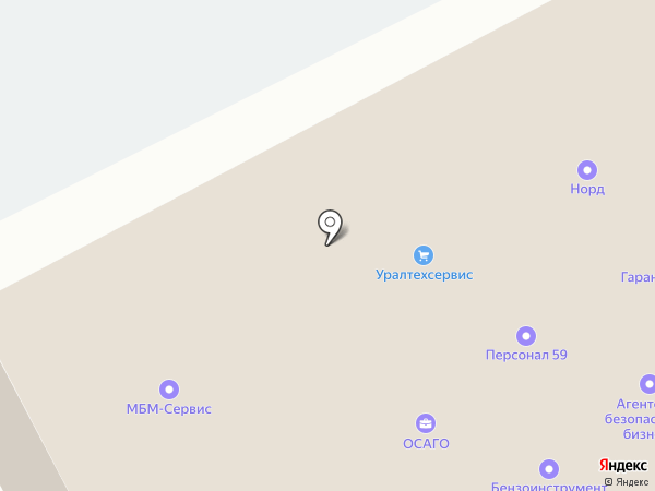 Буфет на карте Перми