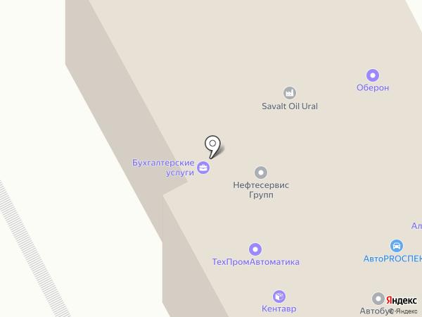 Банкомат, Банк Уралсиб на карте Перми
