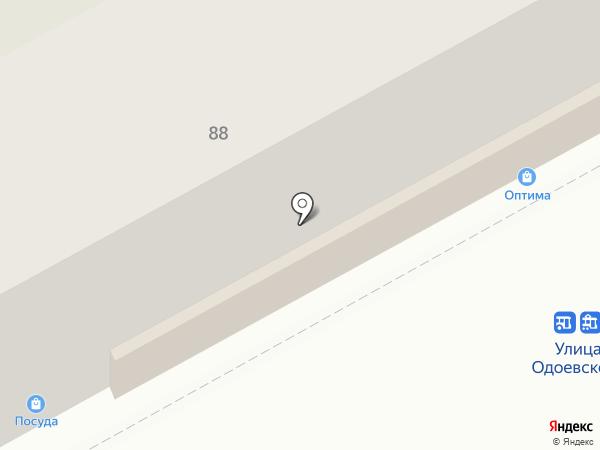 Магазин швейной фурнитуры на карте Перми