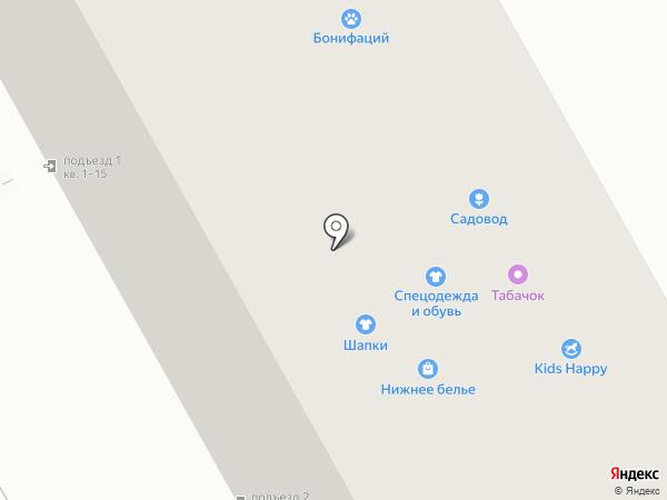 Пятачок на карте Перми