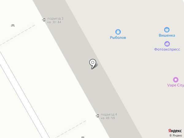 Стрекоза на карте Перми