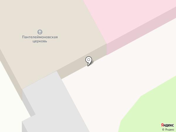 Церковь Святого Великомученика целителя Пантелеймона на карте Перми