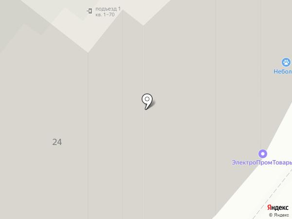 Продуктовый магазин на ул. Каменского на карте Перми
