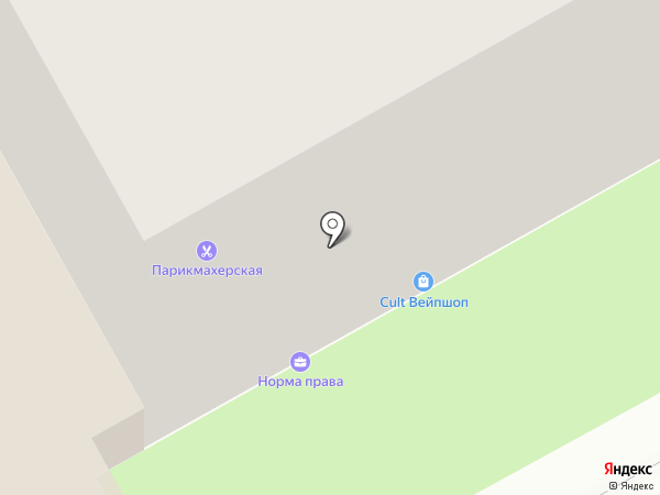 INFINITI на карте Перми
