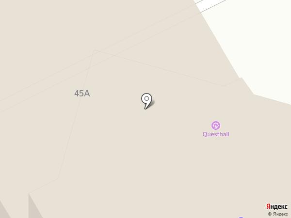Геодезия на карте Перми