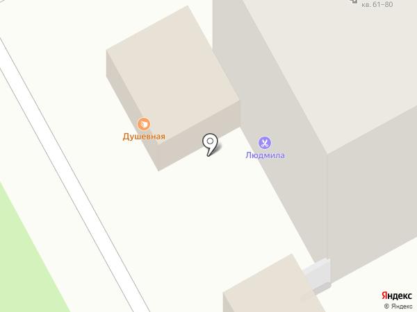 Хлебушко на карте Перми
