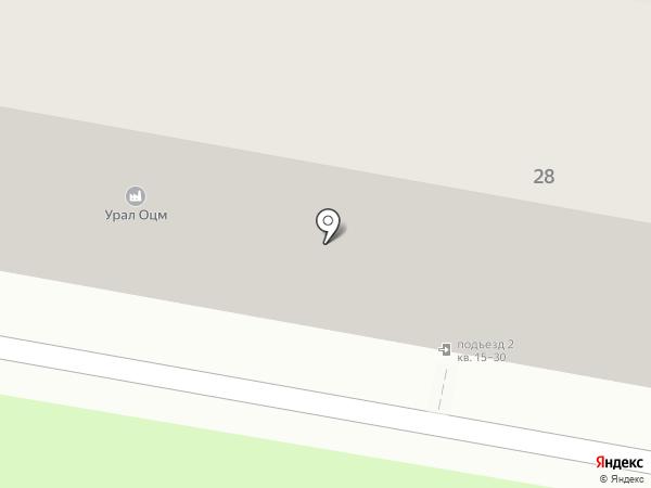 Автозип на карте Перми
