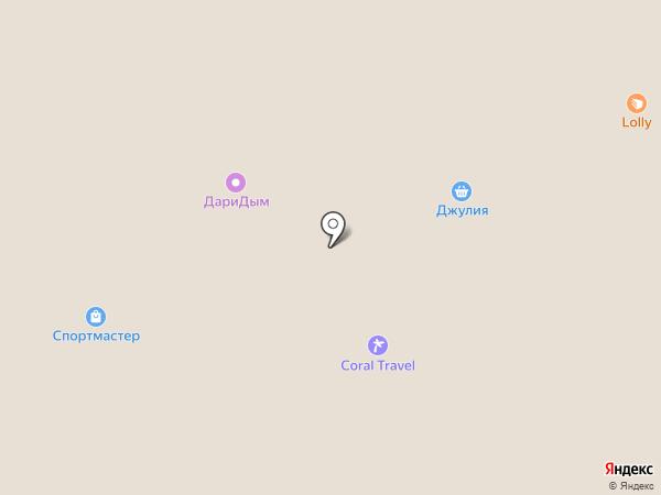 Тсуру на карте Перми