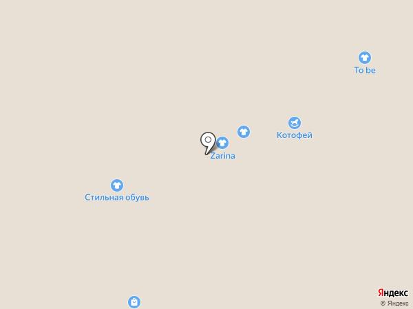 Котофей на карте Перми