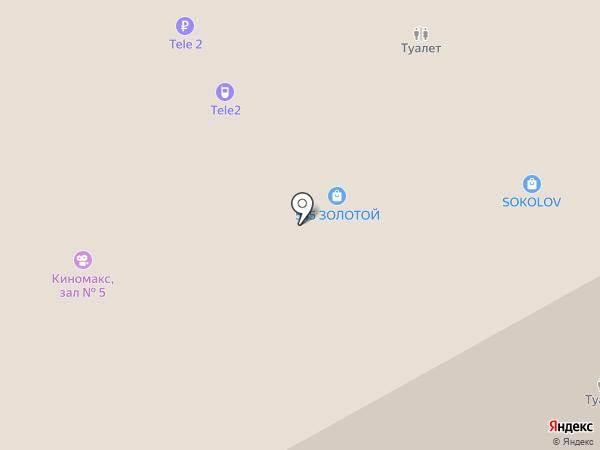 Золотой на карте Перми