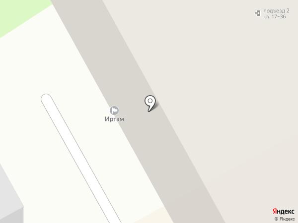 ЦСК на карте Перми
