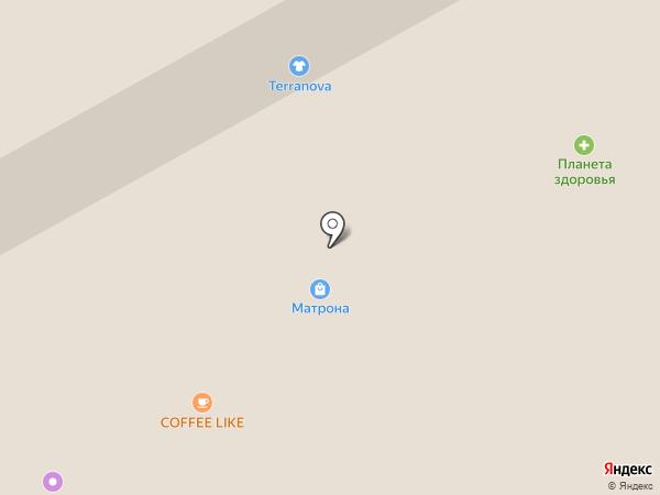 Пермские лотереи, ГУП на карте Перми