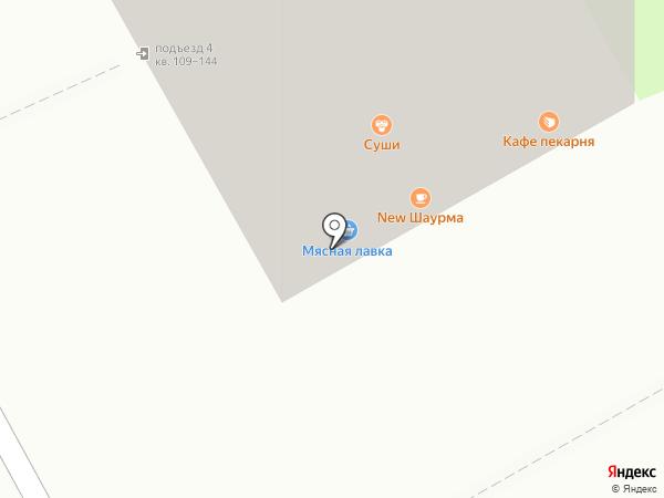 Express шаурма на карте Перми