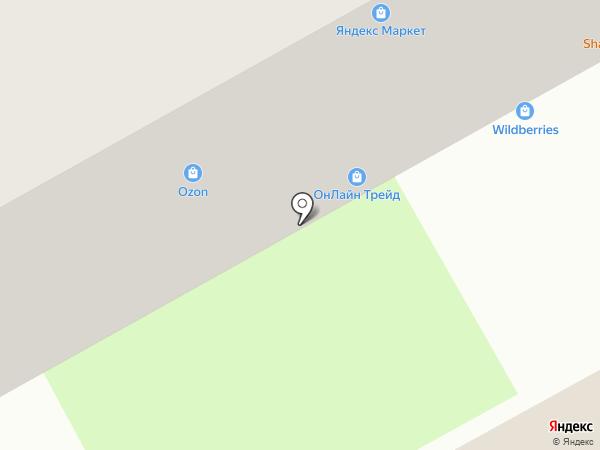 Брусникино на карте Перми