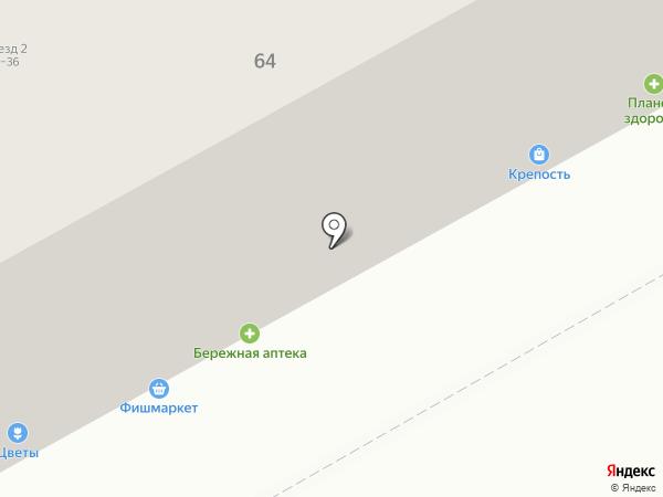 Пенная Бочка на карте Перми