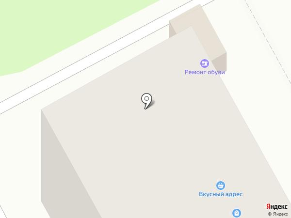 Сапог на карте Перми
