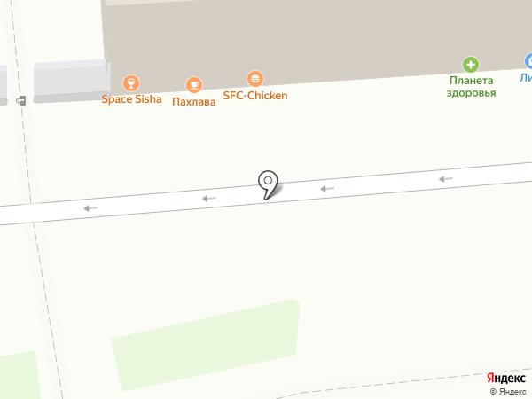 БАКУ на карте Перми