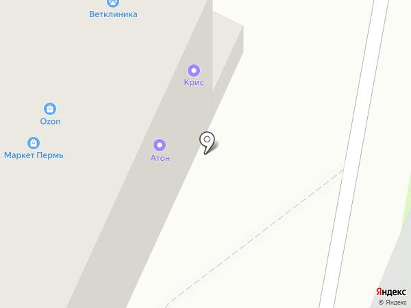 ГалинА на карте Перми