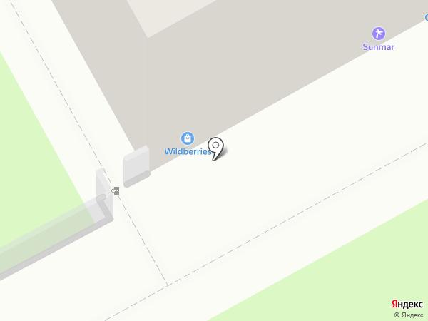 Навара на карте Перми