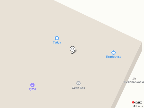 Елена на карте Перми