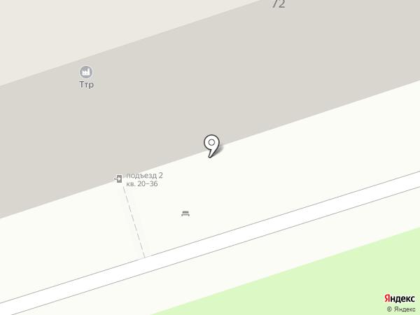 ТТР на карте Перми