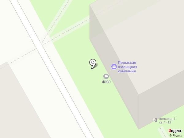 ЖКО-СЕРВИС на карте Перми