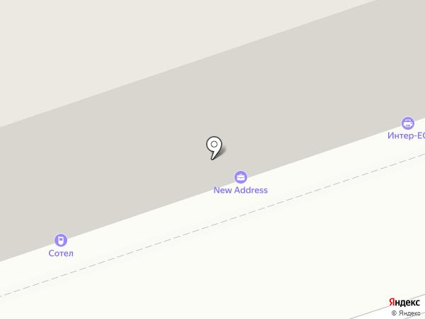 Сотел на карте Перми