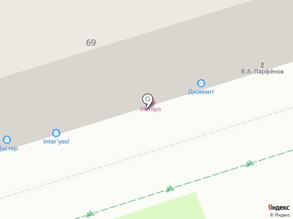 Фифа на карте Перми