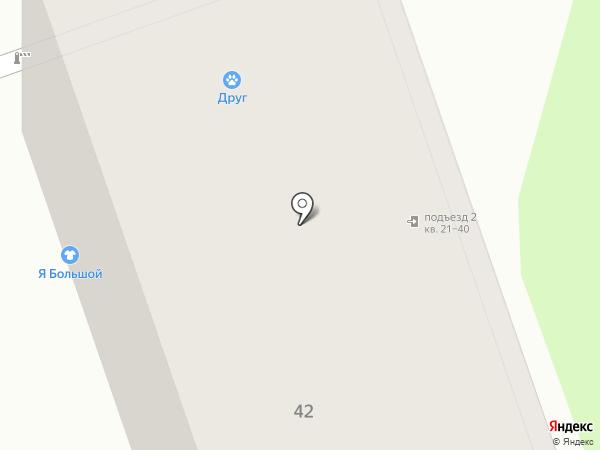 Друг на карте Перми