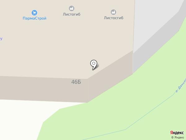 Комплектмонтаж на карте Перми