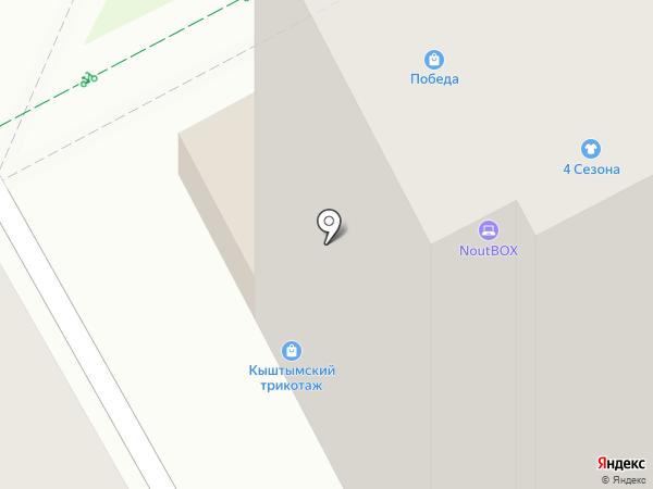 Спелёнок на карте Перми