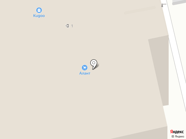 Магазин одежды на карте Перми