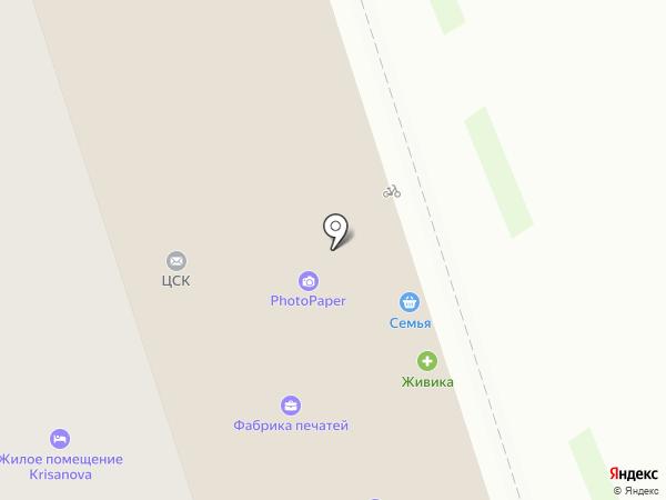 Микруля на карте Перми