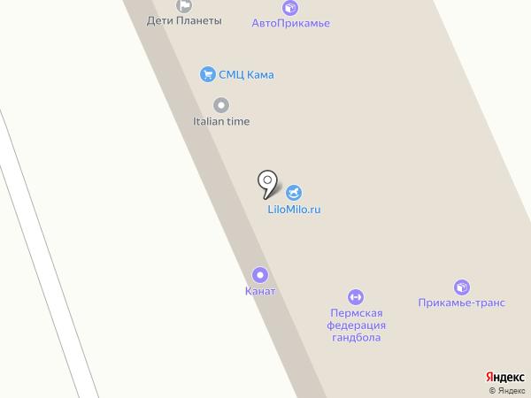 ВАРТ-ГРУПП на карте Перми