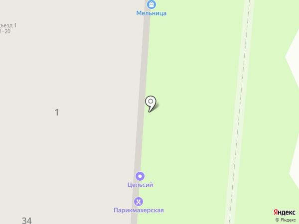 Мельница на карте Перми