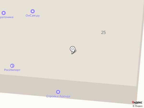 Техоборудование на карте Перми