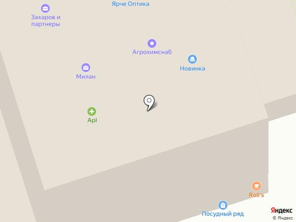 Пиломатериалы Прикамья на карте Перми