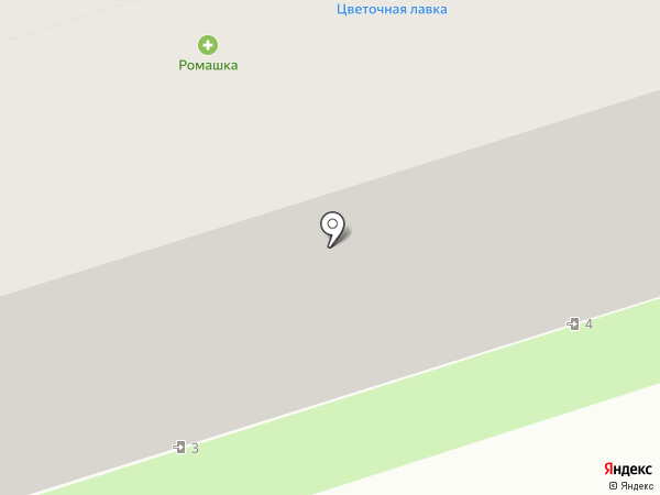 АПТЕКА РОМАШКА на карте Перми