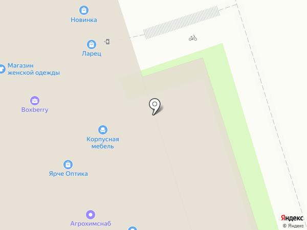 Квартирное бюро на карте Перми