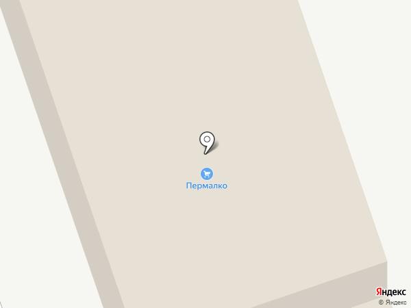 Пермалко на карте Перми