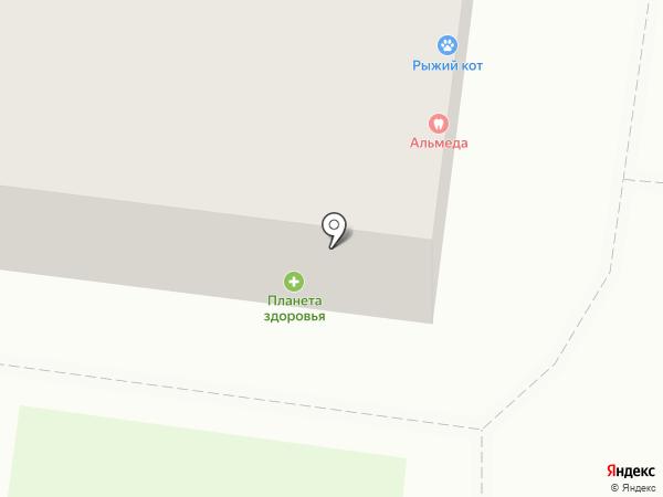 Альмеда на карте Перми