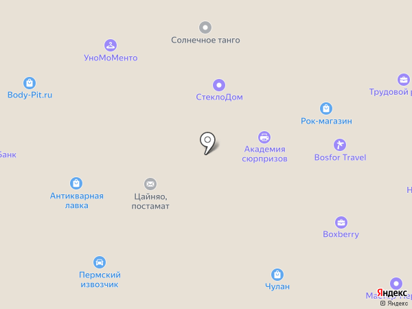 KRISTAR JNS на карте Перми