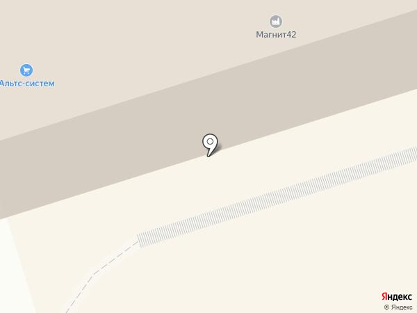 Рыжик на карте Перми