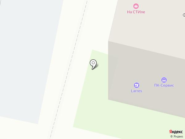 Светлана на карте Перми