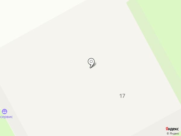 А-сервис на карте Перми