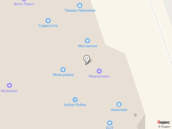 Времена года на карте Перми
