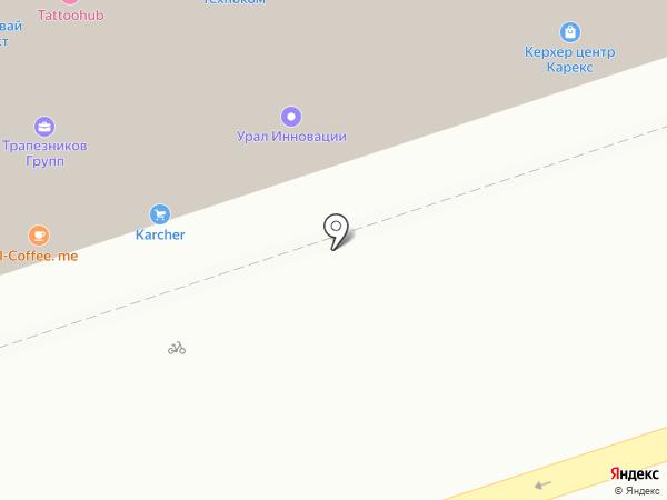 Алмазбур на карте Перми
